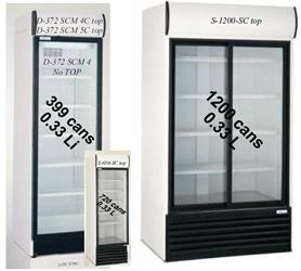 Kast Met Glazen Deuren.Koelkast Koel Kast Glazen Deuren Asogem Equipment Realisatie Van